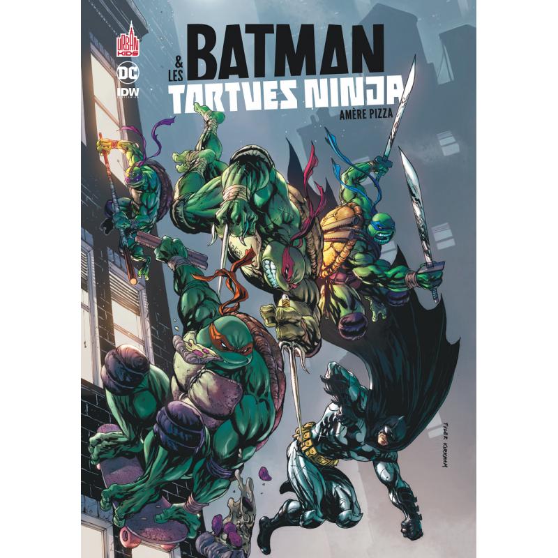 Batman et les tortues ninja urban dc comics achat vente - Tortues ninja pizza ...
