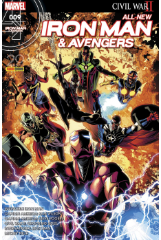 All New Iron Man & Avengers 8