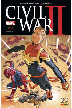 Civil War II 003 - Couverture A