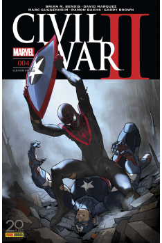 Civil War II 003 - Couverture A
