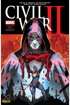 Civil War II 005 - Couverture A