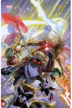 Plaque Métal Gardiens de la Galaxie