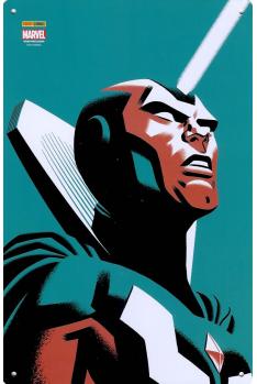 Plaque Métal Panthère Noire