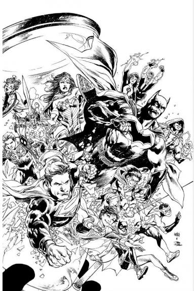 Justice League Hors Série 1 Variante Excalibur