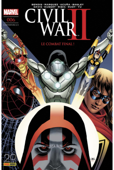 Civil War II 006 - Couverture A