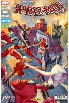 SPIDER-MAN UNIVERSE 01 (2017) - Web Warriors 2