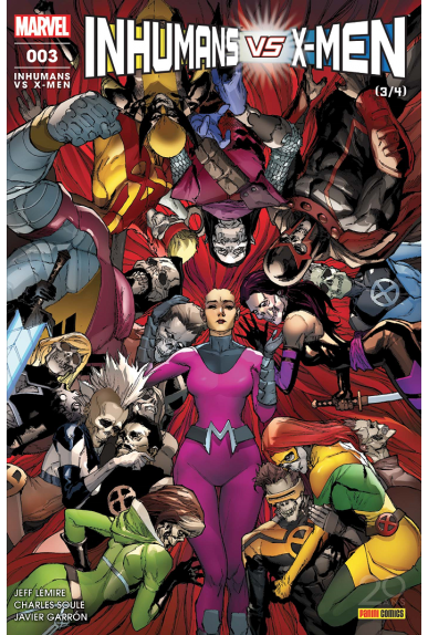 Inhumans Vs X-Men 3