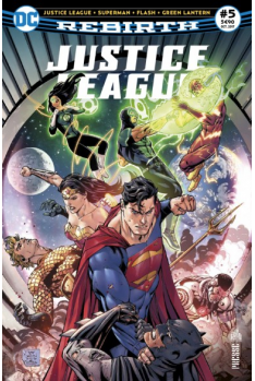 Justice League Rebirth 5