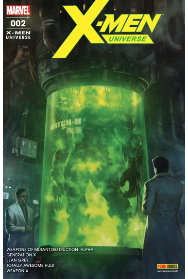 X-MEN UNIVERSE 01 (2017)