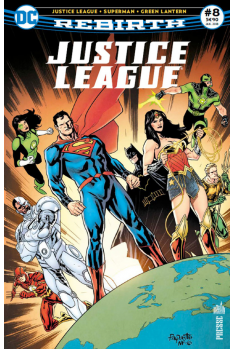Justice League Rebirth 8