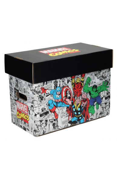 Lot de 10 Boites de Rangement Comics UniversBox