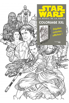 Star Wars Résistance : Coloriage XXL