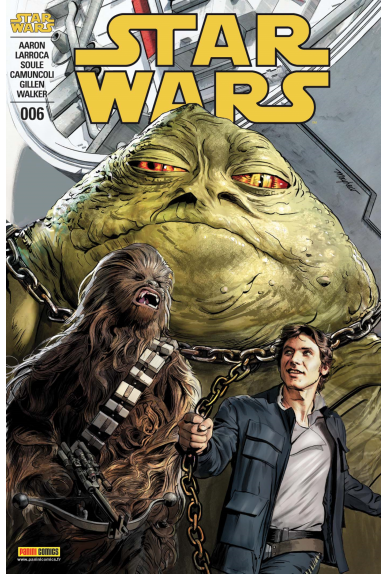 STAR WARS 06 (2018) Variant Cover