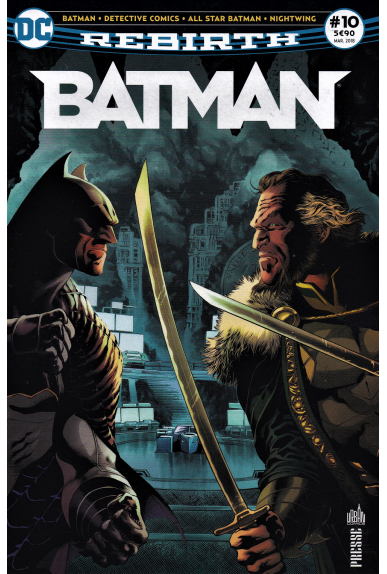 Batman Rebirth 10