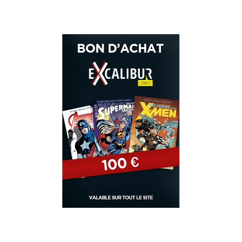Bon Cadeau De 100 Sur Tout Le Catalogue Excalibur Comics