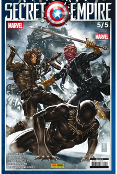 Secret Empire 5 Variant Cover