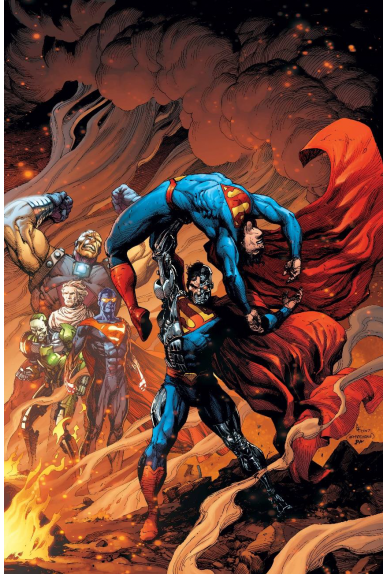 Justice League Rebirth 12