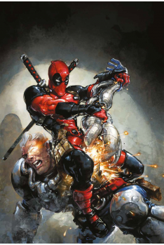Marvel Legacy : Deadpool 1 Variant Japan Expo