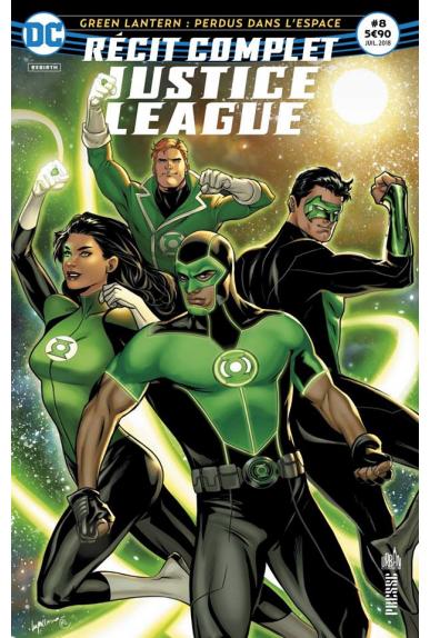 Récit Complet Justice League 8
