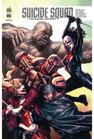 Suicide Squad Rebirth Tome 5