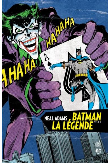 BATMAN LA LÉGENDE par NEAL ADAMS TOME 2