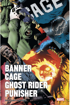 Banner, Cage, Punisher par Richard Corben