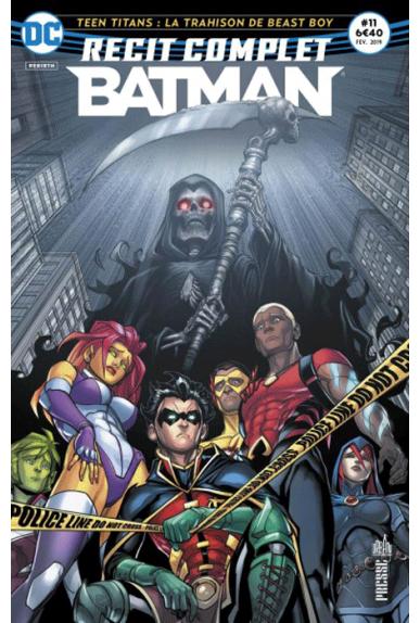 Récit Complet Batman Rebirth 11