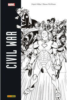 Civil War - Edition Noir & Blanc