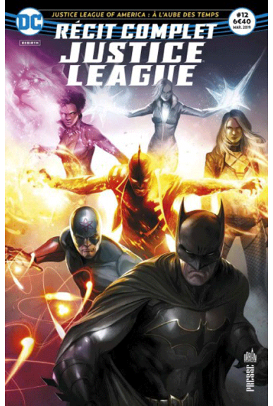Récit Complet Justice League 12