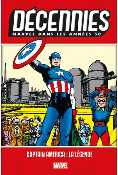 Les Décennies Marvel Années 50 : Captain America