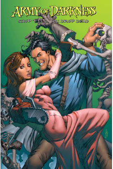 Army of Darkness Tome 2 Shop till you drop dead