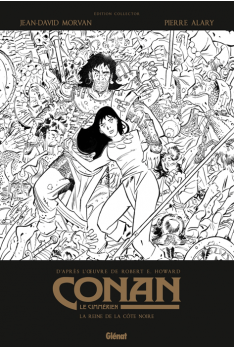Conan le Cimmérien Tome 1 : La Reine de la Côte Noire N&B
