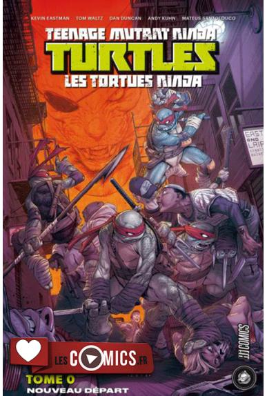 Les Tortues Ninja Omnibus Tome 0 : Nouveau départ