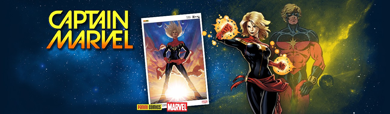 Lithographie Captain Marvel